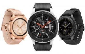 galaxy watch gold, negro, 46mm