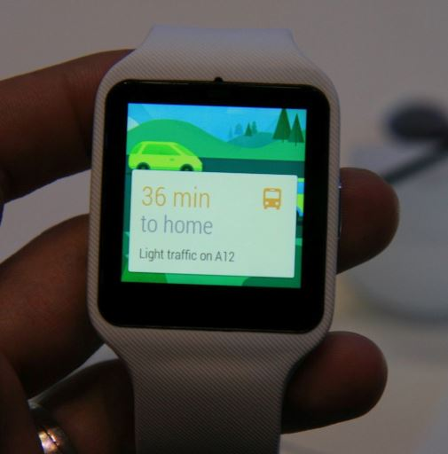 sony smartwatch 3 maps