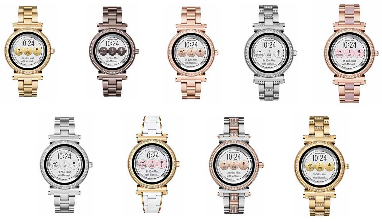 smartwatch michael kors mujer