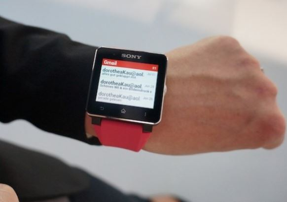 sony smartwatch 2 gmail