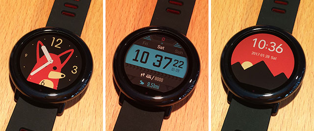 xiaomi amazfit pace watch faces smartwatch